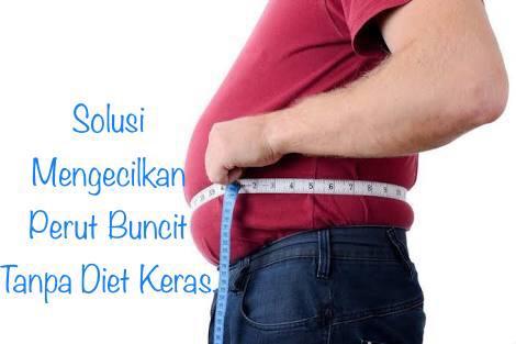 Mengecilkan Perut Buncit Tanpa Diet