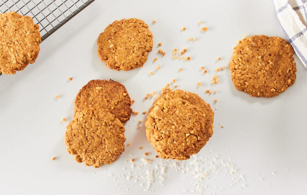 Coconut Peanut Cookies