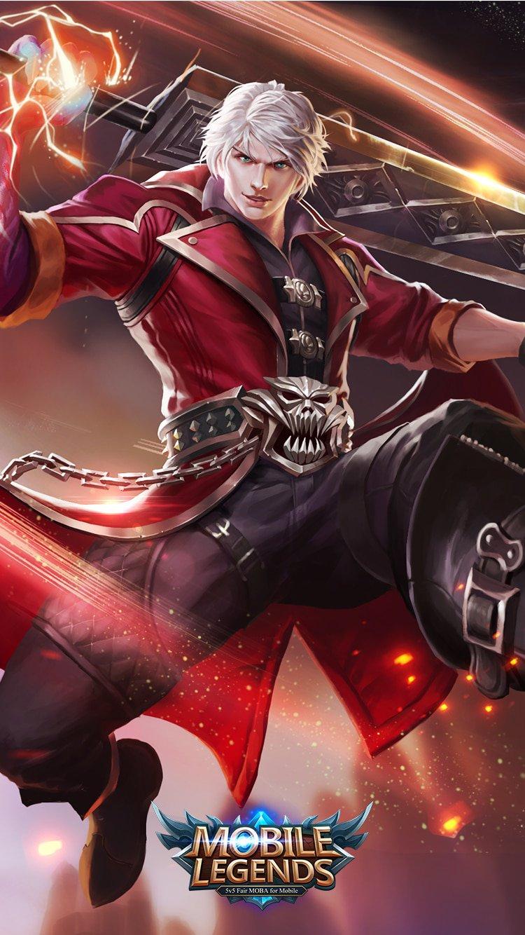 Alucard Demon Hunter - Wallpaper Mobile Legends