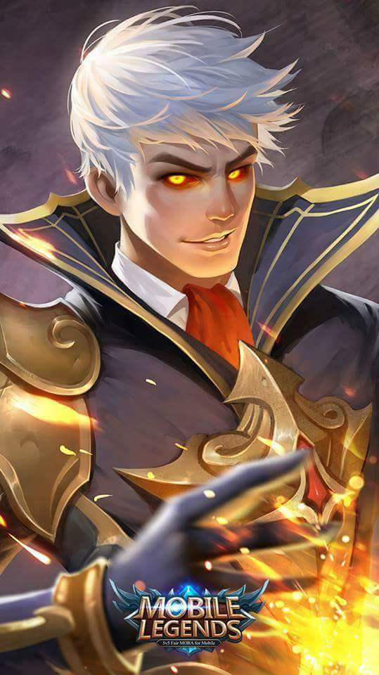 Alucard The Fiery Inferno - Wallpaper Mobile Legends