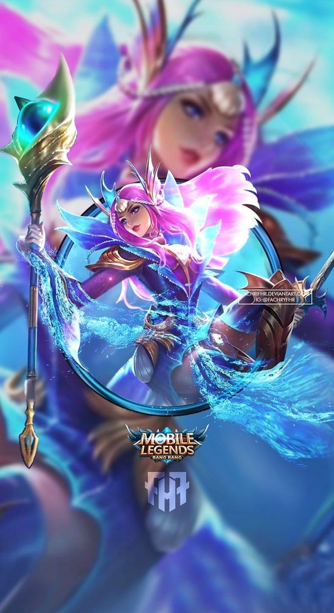 Wallpaper Pharsa Mobile Legends