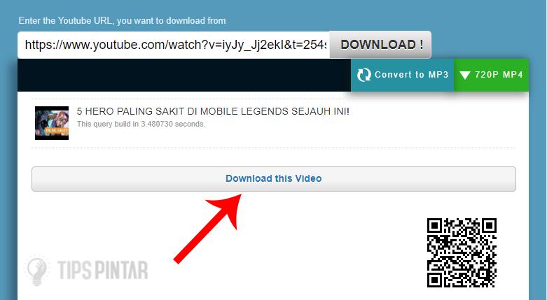 Pilih Tombol Download