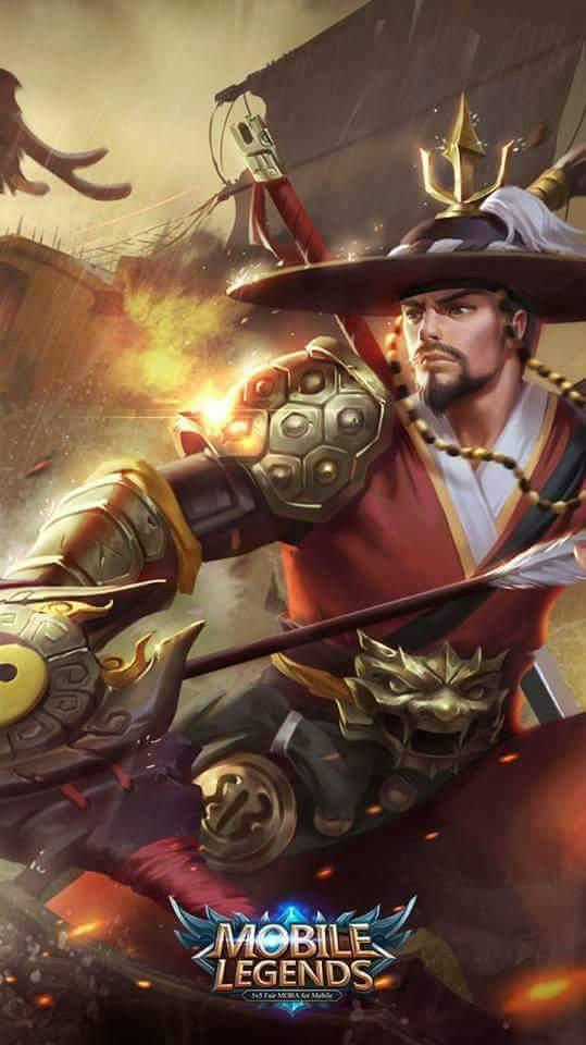 Wallpaper Mobile Legends Yi Sun-Shin