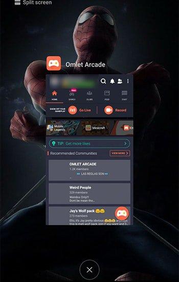 Buka Aplikasi dan Pilih Recent Aplikasi