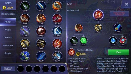Endless Battle - Item Mobile Legends