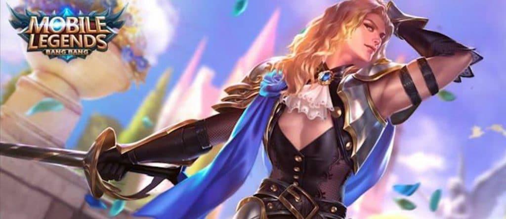 Lancelot Perfumed Knight - Wallpaper Mobile Legends