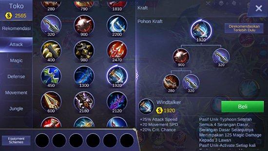 Windtalker - Item Mobile Legends