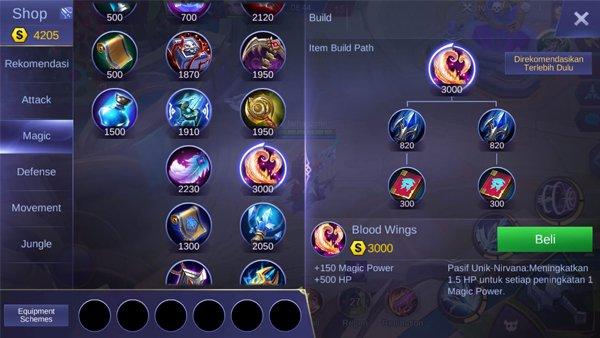 Blood Wings - Item Mobile Legends