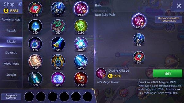 Divine Glaive - Item Mobile Legends