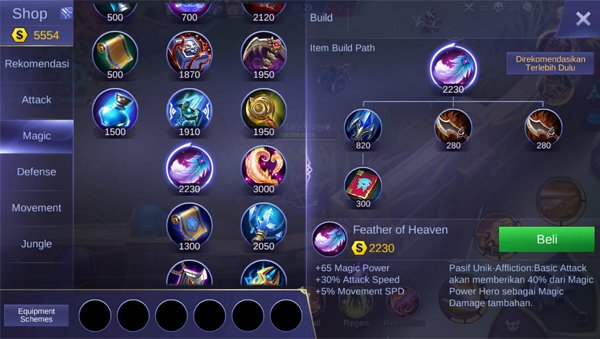 Feather of Heaven - Item Mobile Legends
