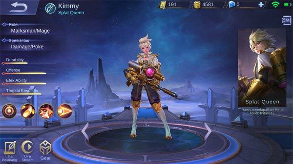 Kimmy - Hero Mobile Legends