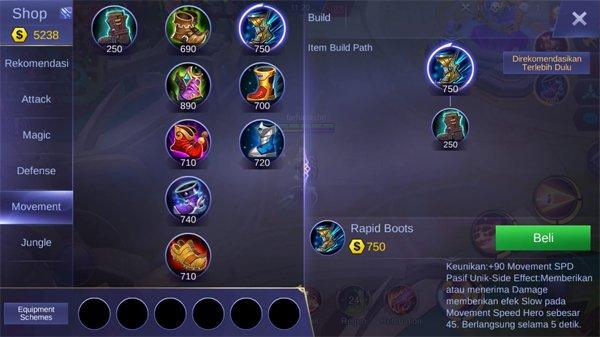 Rapid Boots - Item Mobile Legends